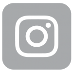 Gray Instagram logo